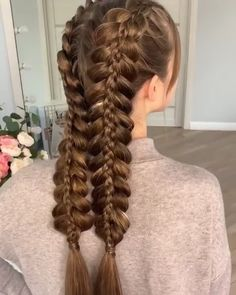 10 beautiful braided hairstyles you will love - the latest hairstyles . - 10 gorgeous braided hairstyles you& love – the latest hairstyle trends for 2019 – there& - Latest Hairstyles, Easy Hairstyles, Girl Hairstyles, Workout Hairstyles, Medium Hairstyles, Braided Hairstyles For Long Hair, Crimped Hairstyles, Camping Hairstyles, Renaissance Hairstyles