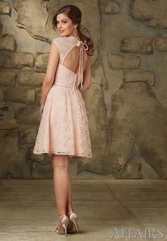 Bridesmaid's Dress Lace