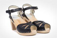 Maguba rio clog sandal, black $149.00