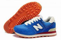 Joes New Balance ML574CBL Sneakers Blue White Mens Shoes