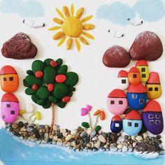 Pebble art by GK