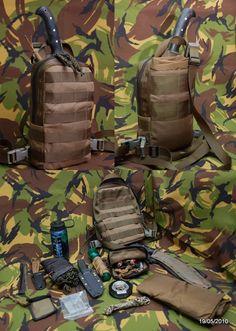 Baddass survival pouch.