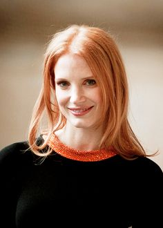 mooi rood is niet lelijk ♥ Red hair - Jessica Chastain