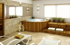 inovar nas áreas de lazer:spa e sala de descanso
