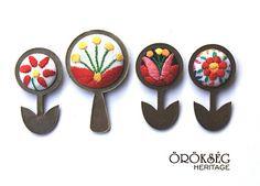 Designs inspired by Hungarian folk art