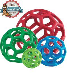 Pelota Elástica en Forma de Red - JW Pet Hol-ee Roller Ball. Juguetes Para  PerrosPerros ... 7fee8a1401084