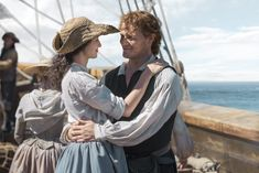 Claire Fraser (Caitriona Balfe) in Outlander Season Three Voyager on Starz