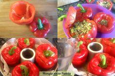 Peperoni ripieni light, ricetta fornetto Versilia, Mangia senza Pancia