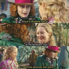 """""""All the best people are crazy """" Melanie martines Tumblr Love, I Can Do It, Sad Girl, Through The Looking Glass, Disney And Dreamworks, Tim Burton, Johnny Depp, Movie Quotes, Movies And Tv Shows"""