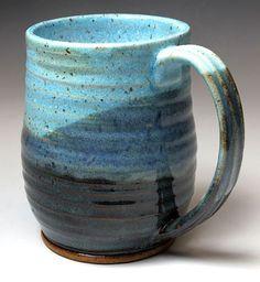 Bridges+Pottery+Coffee+Mug++Cup+++Large+by+bridgespottery+on+Etsy,+$24.00