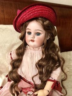 Antique Bisque Doll Simon Halbig. Poupee Ancienne