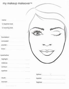 Aprende los tipos de rostro y piel. Estudia 1 día a la semana!