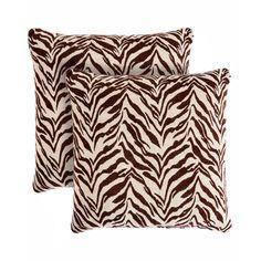 Pegasus Home Fashions Zebra Throw Pillow & Reviews | Wayfair