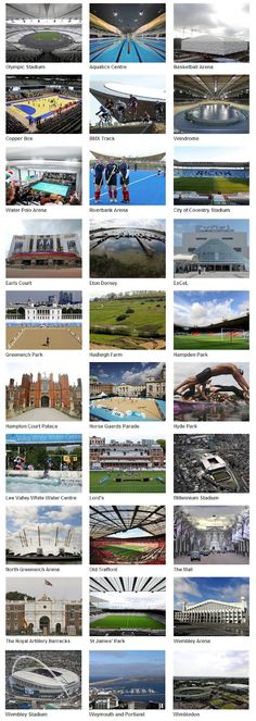 2012 Olympic Venues