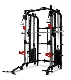 Power Racks & Smith Machines : Bodyworx FTR70 Multi-Function Express Trainer FREE Trojan FID Bench 2 x 210 Lbs Stacks - Trojan Fitness