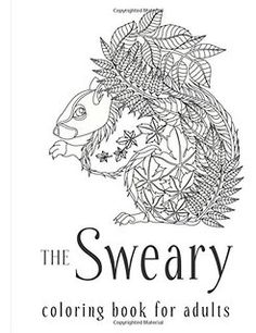 The Sweary Coloring Book For Adults Swear Word