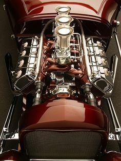 Dual Quad Hemi Roadster. No such thing as too much power.