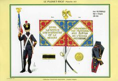 Scuola Politecnico Aquila e bandiera 1805-1814