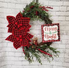 Heart Decorations, Valentine Decorations, Christmas Decorations, Holiday Decor, Christmas Tree Toppers, Christmas Ornaments, Welcome Wreath, Valentine Wreath, Plaid Christmas