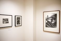 https://flic.kr/p/J4c2Ur | Tweed Reopening Board Members & Guests Preview | Exhibit:  All This Is True: the art of Sue Coe and Warrington Colescott
