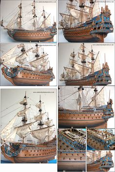 Admiralty Ship Models Ltd Soleil Royal