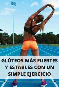 Con un simple ejercicio podrás tener glúteos más fuertes. Mira el video AQUÍ