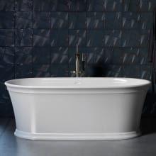 Kohler Reve Freestanding Cast Iron Bath Kohler Raincan Rain