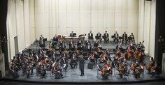 Temporada 2015. Concierto 1: Santa Cruz - Tchaikovsky. Orquesta Filarmónica de Santiago. Director musical: Konstantin Chudovsky. Foto: Patricio Melo.