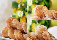 dailydelicious: Puffy Twist Donut: Easy treats for everyone! Donut Recipes, My Recipes, Snack Recipes, Dessert Recipes, Filipino Desserts, Filipino Recipes, Beignets, Yummy Treats, Sweet Treats