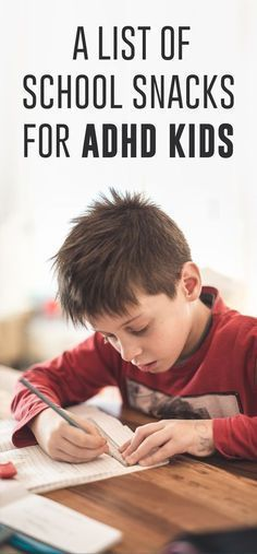 Certain foods can help a child with ADHD focus and concentrate better, like foods high in omega-3 fatty acids.