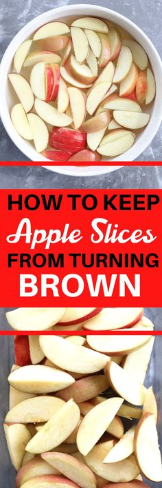 This is the BEST way to keep apples from turning brown! I've tried all the strategies and this is the best way that keeps no weird taste. Great for school lunches and snacks. HEALTHY Healthy Cookie Recipes, Healthy Cookies, Healthy Baking, Healthy Preschool Snacks, Healthy Snacks, Eating Healthy, Honey Health Benefits, Clean Eating Dinner, Healthy Lifestyle Tips
