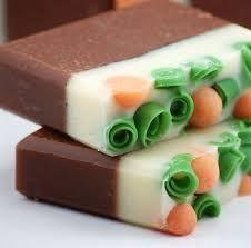 exclusivos jabones aroma de chocolate y sabila | jabones ...