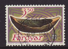 Faroes 1989 SG 177 Used Europa/CEPT Listing in the Denmark & Faroe Islands,Europe,Stamps Category on eBid United Kingdom Faroe Islands, Stamp Collecting, Postage Stamps, Denmark, United Kingdom, The Unit, Activities, Europe