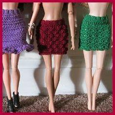 Saia para Barbie εïз