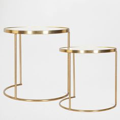 df262934d0 Round Nest of Tables (Set of 2) - Occasional Furniture The small table is