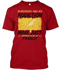 Guinea Pig Addiction Animal Lover Deep Red T-Shirt Front Funny Animal Quotes, Animal Jokes, Funny Animals, Camel Tow, Parrot Pet, Parrot Toys, Guinea Pig Toys, Guinea Pigs, Chinchilla Baby