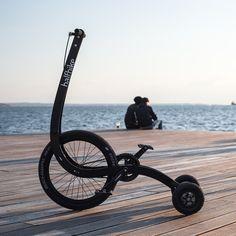 Halfbike II, segunda versión de la bicicleta plegable de Kolelinia   Experimenta