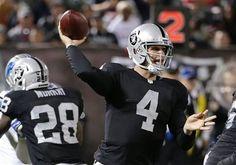 Derek Carr Should The Oakland Raiders' Week 1 Starter - http://www.tsmplug.com/nfl/derek-carr-oakland-raiders-week-1-starter/