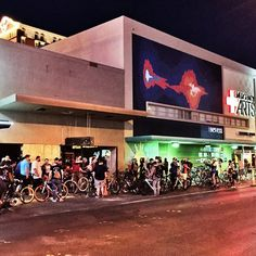 Weekly group ride hosted by @smashbroslv  that happens on Monday in front of The Beat Coffee House around 7:00pm