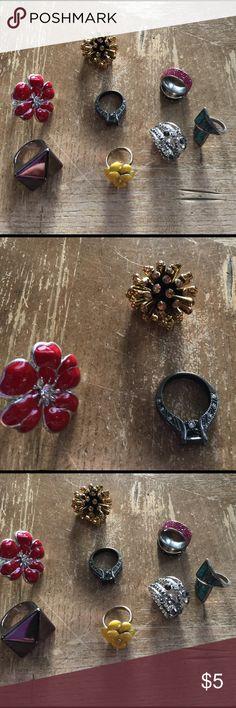 Ring lot multiple size 🌺 Ring lot multiple size 🌺 Jewelry Rings