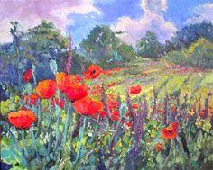 Poppies in Mountains-Suren Nersisyan