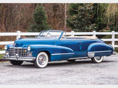 1947 Cadillac 62 Convertible cars car luxury automotive supercars classic american british american convertible scene shows style spot japanese german Classic Cars British, Old Classic Cars, Classic Sports Cars, Fancy Cars, Cool Cars, Vintage Cars, Antique Cars, Vintage Auto, Vintage Ideas