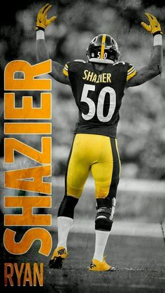 Pittsburgh Steelers Wallpaper, Pittsburgh Steelers Players, Pittsburgh Sports, Best Football Team, Steeler Football, Pittsburgh Steelers Pictures, Steelers Images, Dodgers Baseball, Football Art