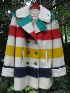 Vintage Hudson's Bay wool point Blanket coat by vintagecatwalks tomorrow this baby will be mine