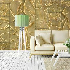 Royal Adoration x Wallpaper Panel East Urban Home Colour: Satin Metallic Wallpaper, Embossed Wallpaper, Wallpaper Panels, Wallpaper Roll, Home 21, Tile Panels, Garden Doors, Hazelwood Home, Door Wall