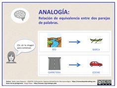 Comprensión lectora de frases, completa la analogía. - Aula PT