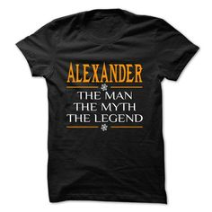 The Legen ALEXANDER... - 0399 Cool Name Shirt ! T-Shirts, Hoodies (22.25$ ==► BUY Now!)