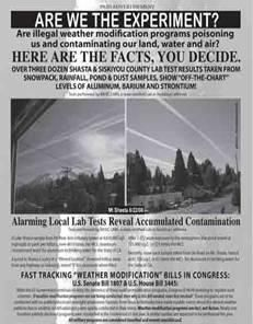 Chemtrails and Chemtrail Alert Page - Chemtrails Spraying and Chemtrail Alert Page - CHEMTRAIL ALERT PAGE Chemtrail Information - Stop Chemtrail Spraying in California!