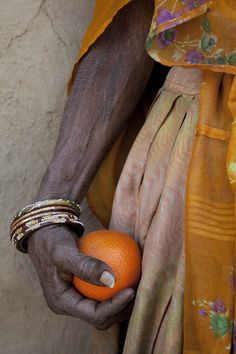 an orange becomes priceless in many cultures.