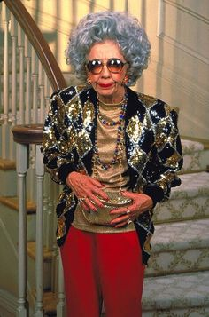 Ann Morgan Guilbert as Yetta Rosenberg in The Nanny (1993-99, CBS)